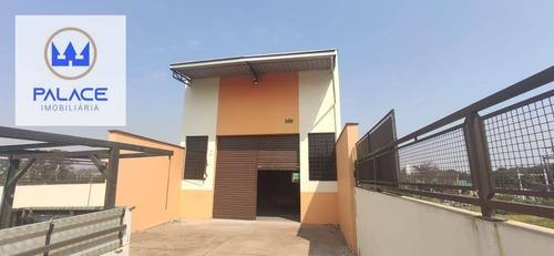 Salão Para Alugar, 270 M² Por R$ 3.000,00/mês - Vila Industrial - Piracicaba/sp - Sl0105