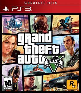 Grand Theft Auto V Gta 5 Ps3 Físico Nuevo Surfnet Store