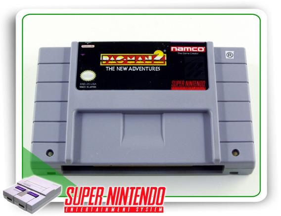 Pac-man 2 The New Adventures Original Super Nintendo Snes