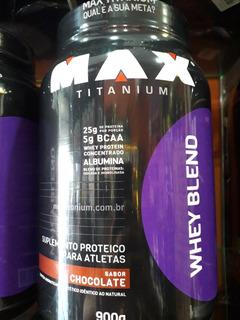 Whey Blend 900 Gr Max Titanium