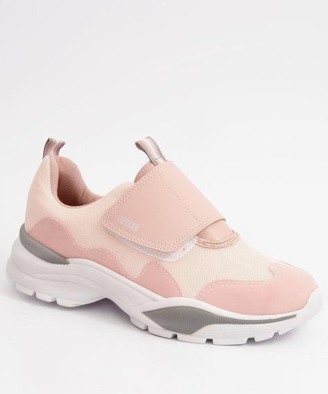 Tênis Feminino Chunky Sneaker Velcro Vizzano