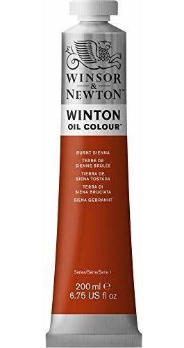 Pintura Al Oleo Winsor Y Newton Winton 200 Ml, Burnt Siena