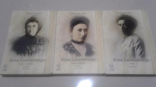 Livros Obras Escolhidas Rosa Luxemburgo 3 Volumes Mercado Livre