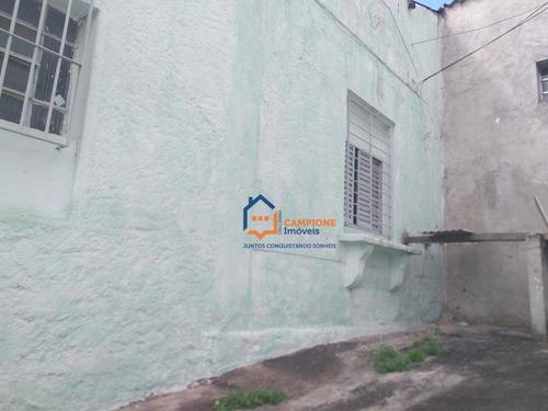 Casa Com 1 Dormitório Para Alugar, 45 M² Por R$ 1.000,00/mês - Casa Verde (zona Norte) - São Paulo/sp - Ca0956