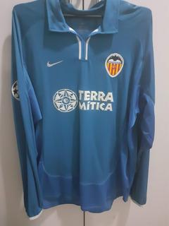 Camisa Valencia 2000/01 Iii Champions League #5 Djukic