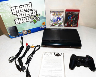 Playstation 3 Super Slim 500gb Incluye 40 Juegos