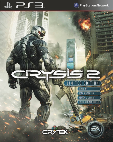 Crysis 2 Limited Edition, Ps3, Importado, Impecavel!