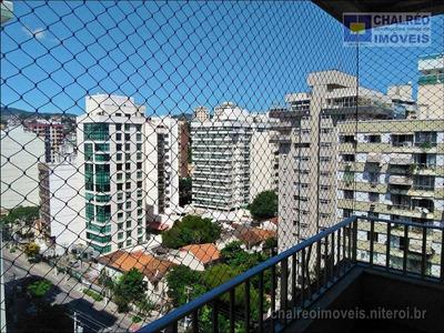 Apartamento Venda 02 Quartos 90 M² - Icaraí - Niterói/rj - Ap0042