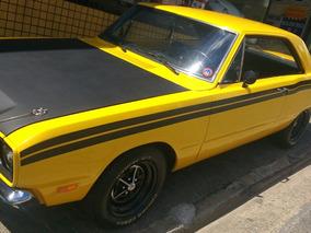 Dodge Dart Se De Plaqueta Amarelo Mondelo Liso Charge Rt Gt