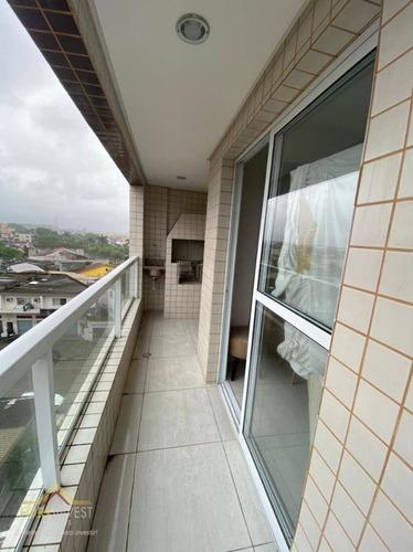 Imagem 1 de 12 de Apartamento Com 2 Dormitórios À Venda, 55 M² Por R$ 260.000,00 - Tude Bastos (sítio Do Campo) - Praia Grande/sp - Ap2315