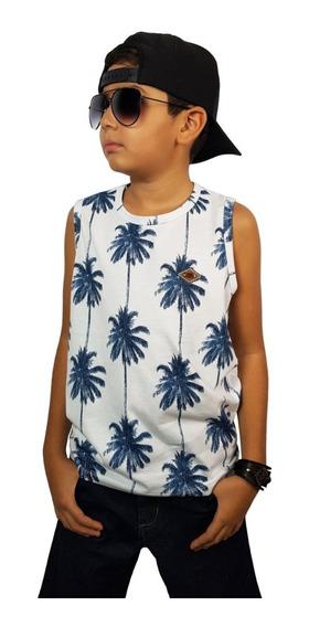 Kit 10 Camisetas Regatas Lindas Infantil Juvenil - Top