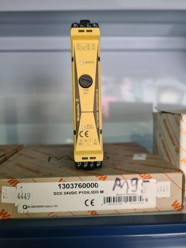 Rele De Seguranca Scs 24vdc P1sil3ds M Com Monitor 130376000