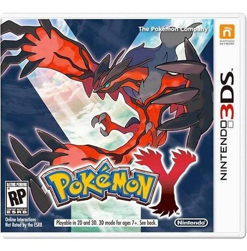 Pokemon Y - Usa - Carta Registrada