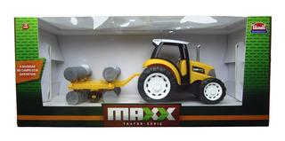 Trator Maxx Arado De Brinquedo Usual Plastic 262