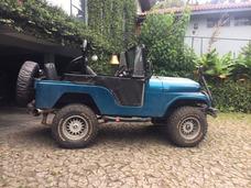 Jeep Willys Preparado Restaurado