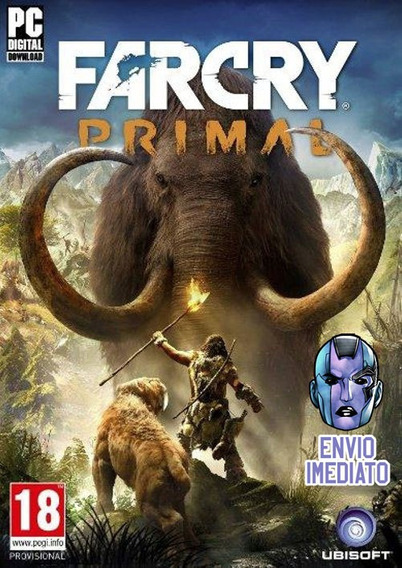 Far Cry Primal Pc Key Original Uplay Envio Imediato
