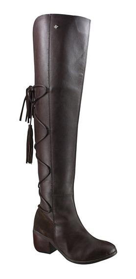 Bota Cravo E Canela Over Knee 144207-1 | Katy Calçados