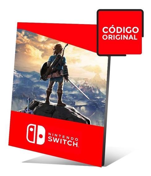 The Legend Of Zelda: Breath Of The Wild Jogo Nintendo Switch