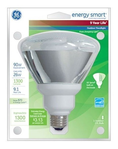 Ge Lighting 47483 Energy Smart Cfl 26 Vatios (reemplazo De 1