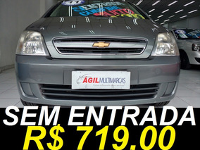 Chevrolet Meriva 1.4 Maxx Flex Único Dono 2011 Cinza
