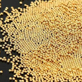 Kit Caviar De Metal 1mm Não Mancha +brinde Strass Ou Dome