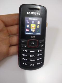 Celular Samsung Gt-e1086l Sem Carregador