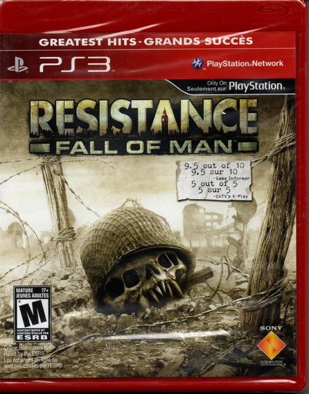 Resistance Fall Of Man Ps3 Novo Mídia Física Lacrado