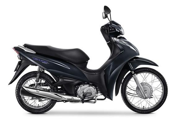 Honda Biz 110i - Cinza Metálico 0km Sem Entrada - Pinda-sp