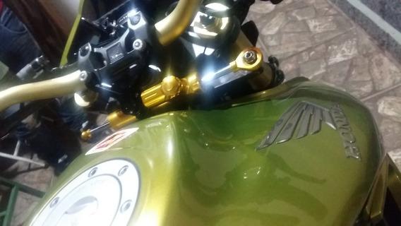 Kit Amortecedor De Direção Guidão Racing Cb1000r Cb 1000r 2008 A 2016 Tipo Ohlins Hiperpro Max À Pronto Envio