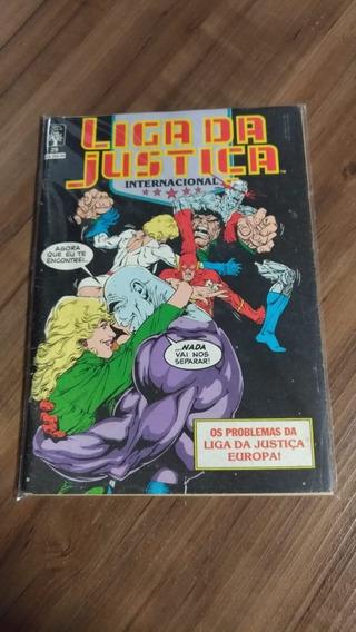 Lote Gibis Liga Da Justiça Edições 1989/90/91 Contendo 12 Un