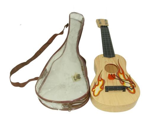 Mini Cuatro Juguete Niño Niña  Instrumento Musical Cuerdas