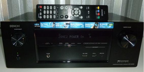 Receiver A/v Denon 7.1 Mod. Avr X2000 C/ Zona2 875w Usado