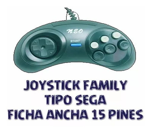 Joystick Family Game De 15 Pines Ficha Ancha Nuevo Once