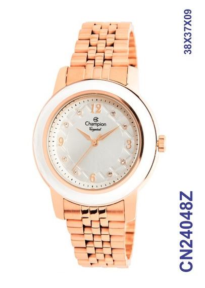 Relógio Champion Rosê Feminino Cn24048z