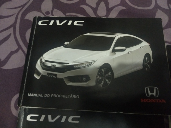 Manual Proprietario Honda Civic 2016 A 2018