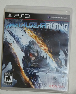 Metal Gear Rising Ps3 (en Cd)