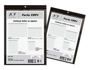 Quadro De Aviso Acp Porta Documento Cnpj 240x340 Vertical