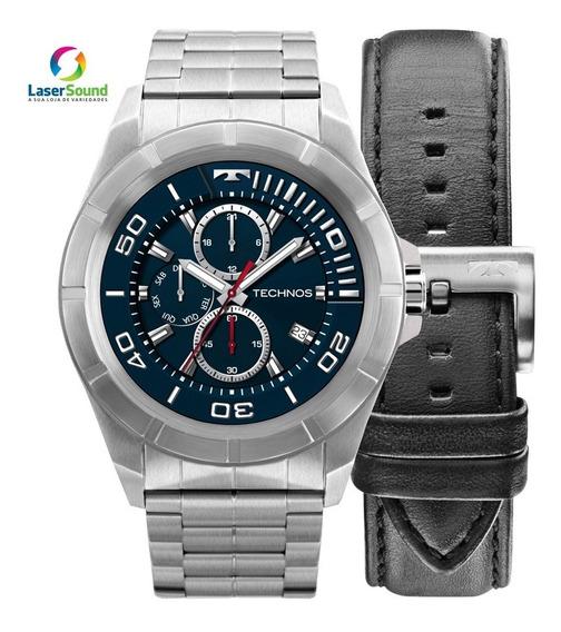 Relógio Technos Connect Smartwach Masculino Sraa/1p, C/nf