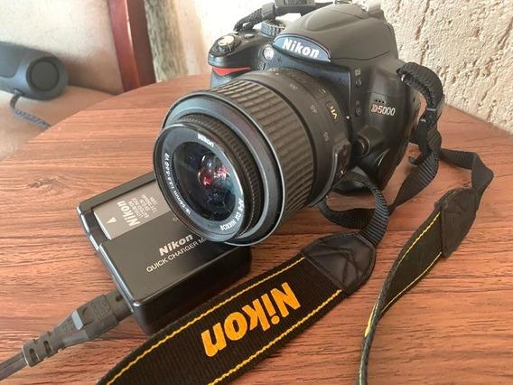 Câmera Nikon D5000 + Lente 18-55mm, Frete Grátis!