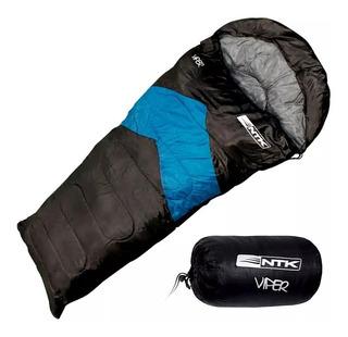 Saco De Dormir Capuz Impermeável Viper Ntk Protege Frio 5°