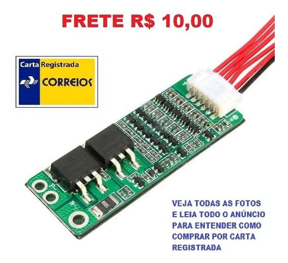 Placa Proteção Carga Bateria Lítio 18650 5s 21v 15a Pcb