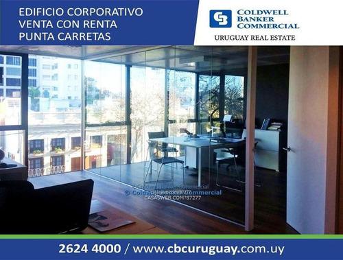 Oficina Punta Carretas Venta Con Renta