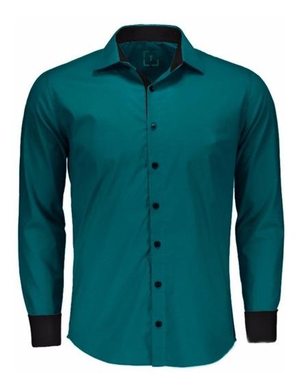 Camisas Social Masculina Slim - Atacado - Pp Ao Gg -promoçao