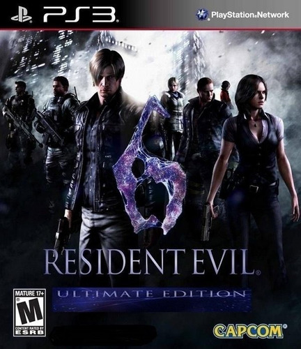 Resident Evil 6 Ultimate Ps3 Via Psn Original