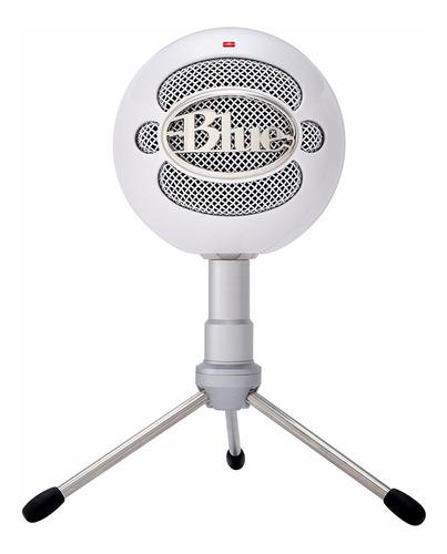 Blue Snowball Ice Micrófono De Escritorio Usb Con Soporte