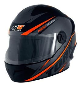 Capacete Para Motociclista Protork R8 Fechado Cores Oferta