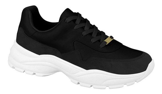 Tênis Vizzano Feminino Sneaker Preto 1331101 Lançamento