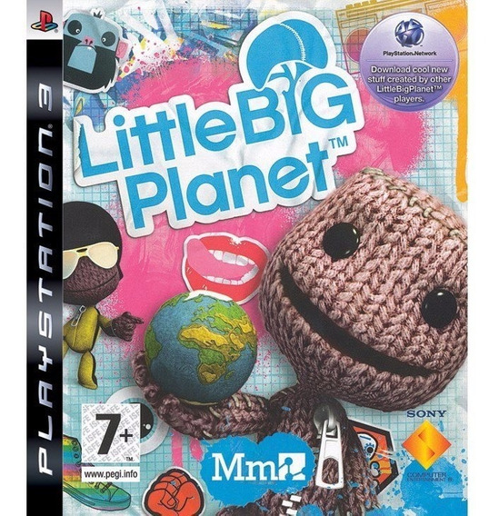 Little Big Planet Ps3 - Mídia Física Semi - Novo