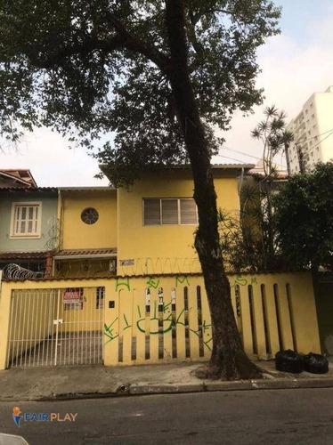 Sobrado 165m 4 Dormitorios 1 Suite 2 Vagas Na Vila Olimpia - Ca0425
