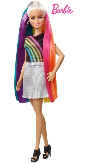 Barbie Peinados De Arcoíris